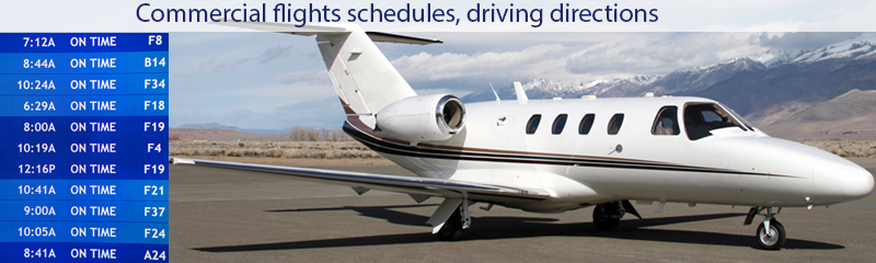 fly private or commercial